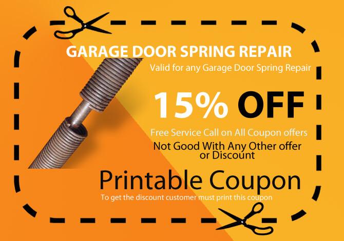 garage springs replace