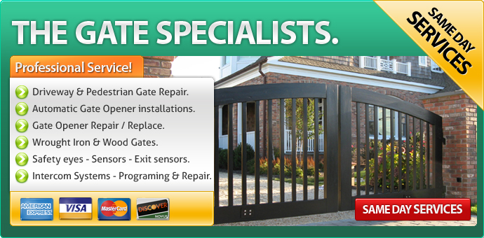 Gate repair Ontario CA